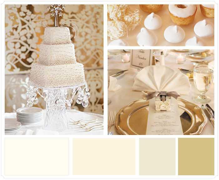 Significado del color marfil en bodas