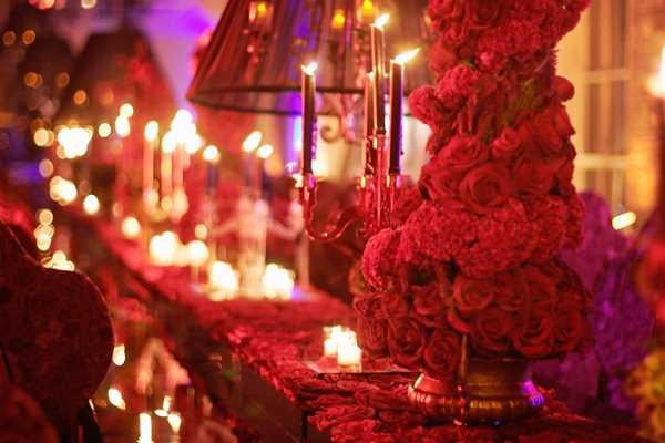 Significado del color rojo en bodas